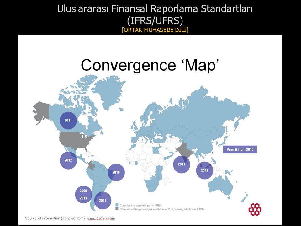 Uluslararası Finansal Raporlama Standartları (IFRS/UFRS) [ORTAK MUHASEBE DİLİ]